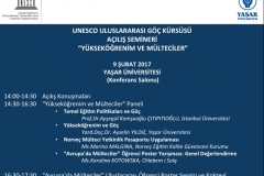 UNESCO Kursusu Acilis Duyuru